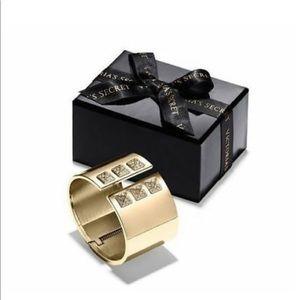 Victoria Secret Gold Cuff Bracelet